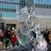 Ledo skulptūros Londone