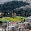 Geltonoje pievoje - Dzeuso Olimpiečio šventyklos griuvėsiai