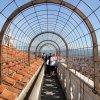 Apžvalgos tunelis ant varpinės bokšto