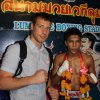 Su Mhui Thai kovotoju Lumpinee stadione