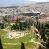 Nuo Akropolio - Dioniso teatro griuvėsiai