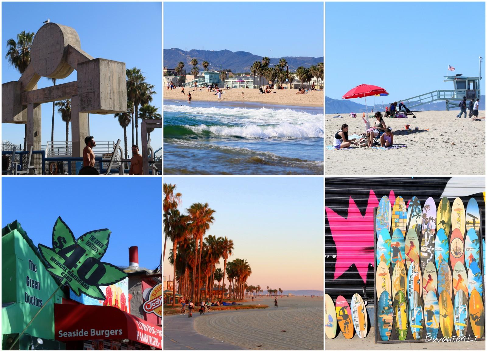 Venecijos paplūdimys Los Andžele