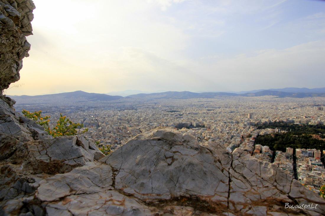 Panorama nuo Likavito kalno