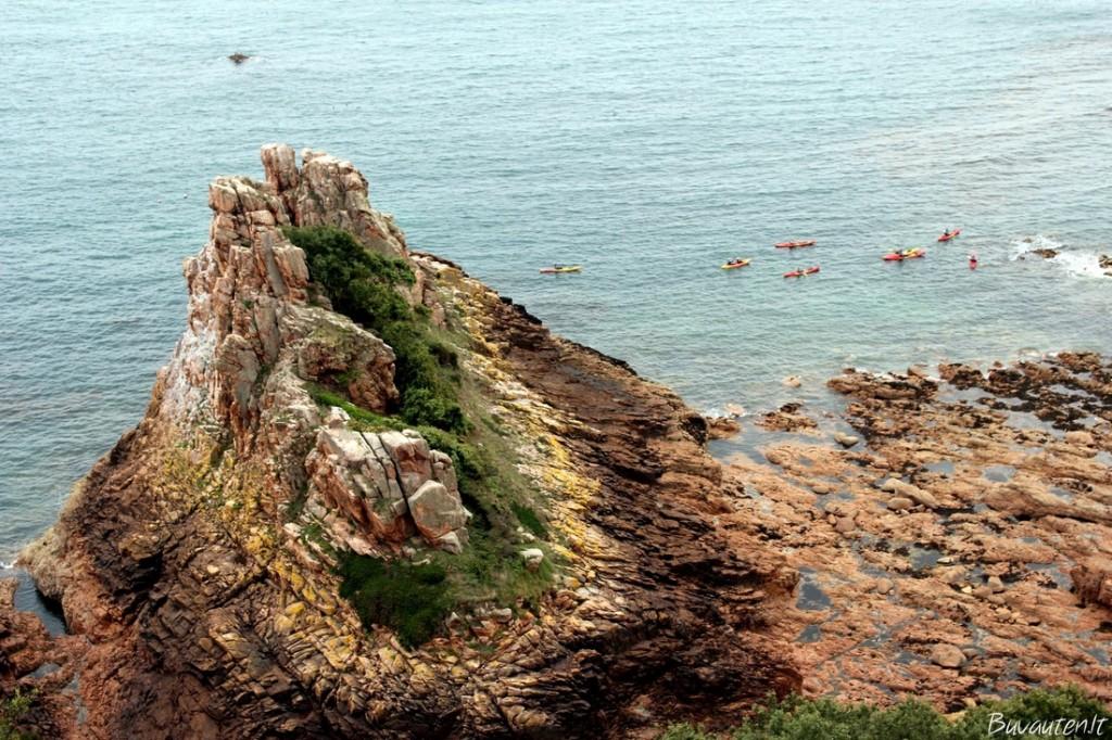 Dramatiški salos krantai