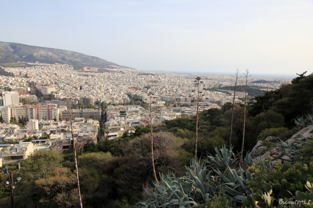 Atėnai nuo Likavito kalno