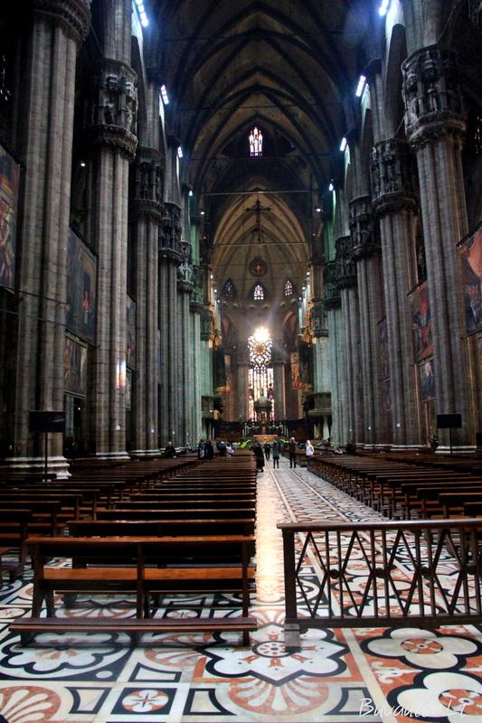 Milano katedroje