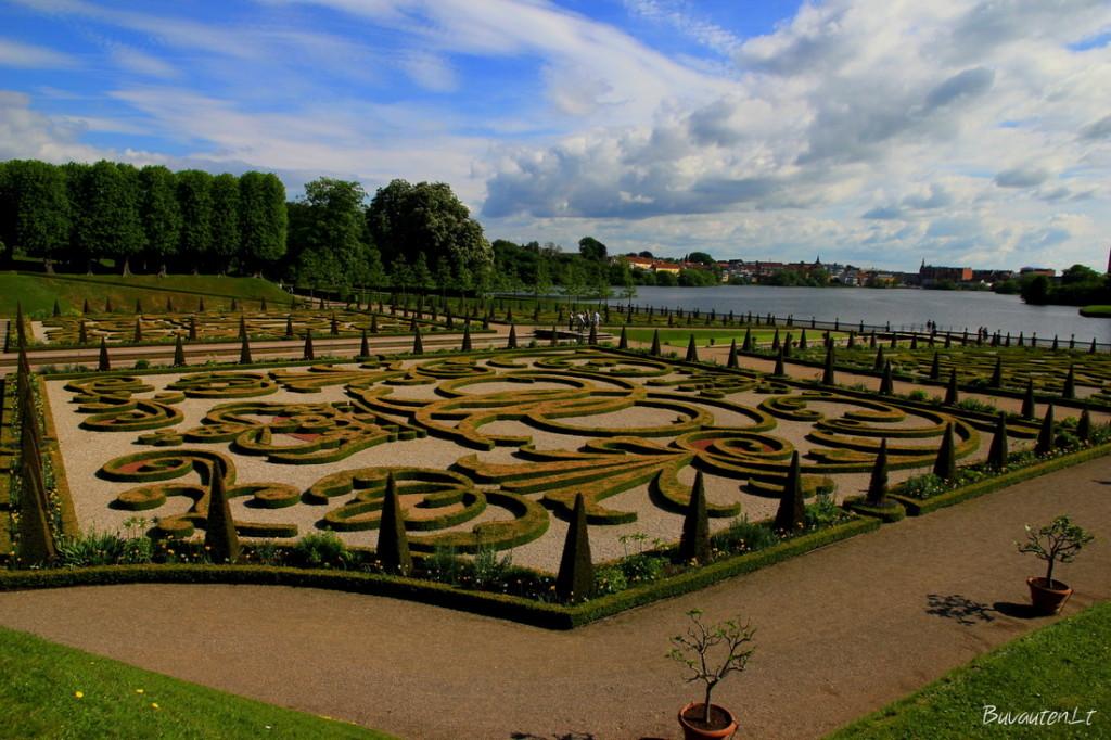 Frederiksborg pilies sodai