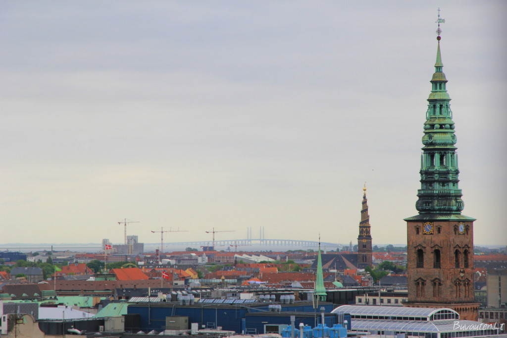 Kopenhagos stogai ir bokštai