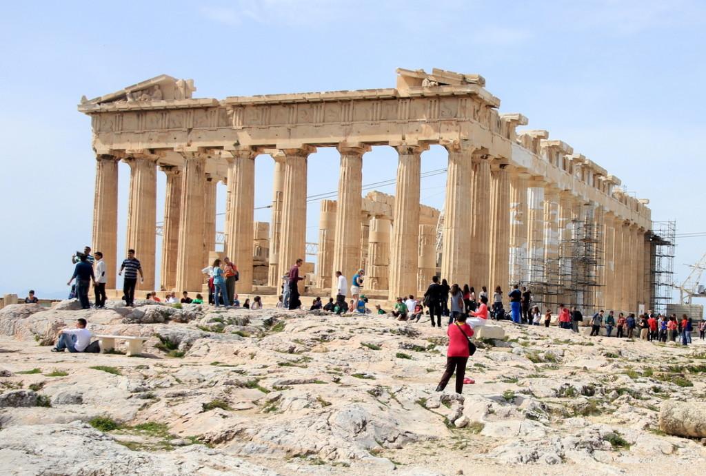 Partenonas - šventykla deivei Atėnei