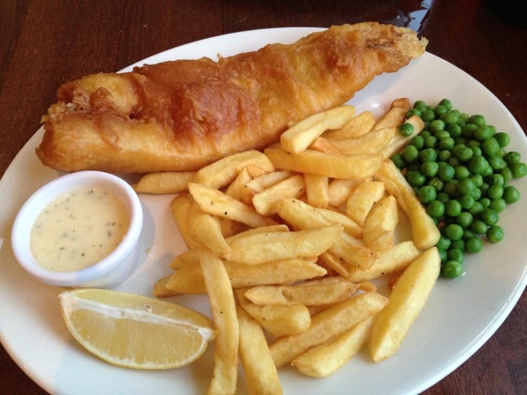 Harvesterio Fish & Chips - buvo skaniau, nei dabar atrodo nuotraukoje