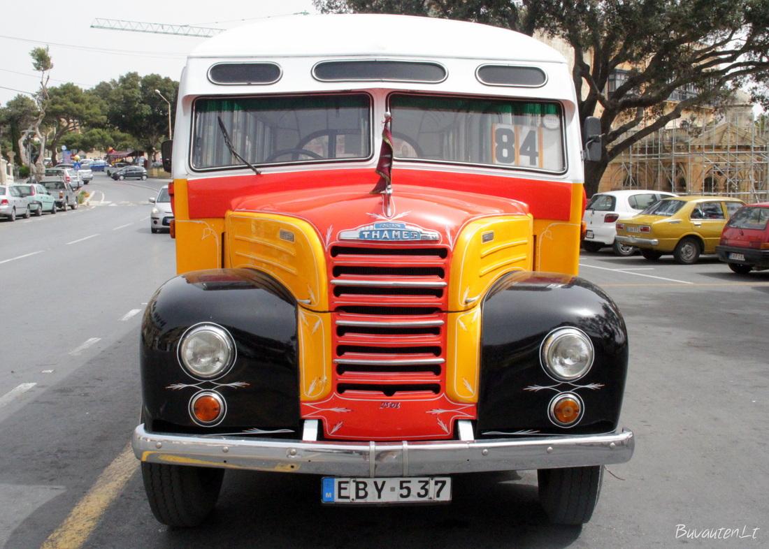 Įsimintinieji Maltos autobusai