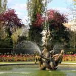 Pavasaris Londono parkuose