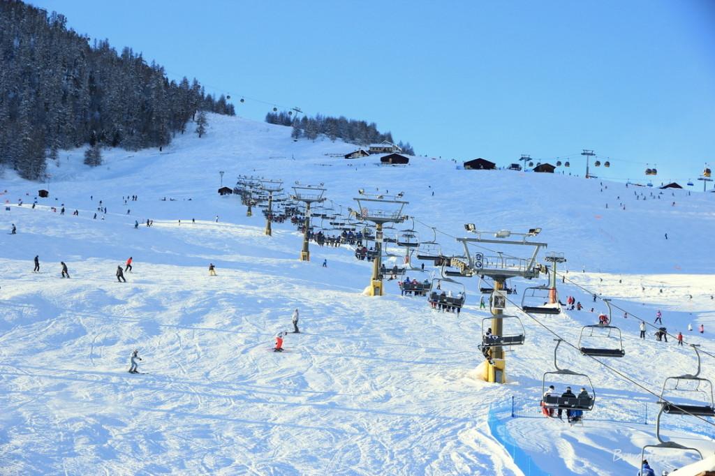 Kalnų keltuvai Livigno
