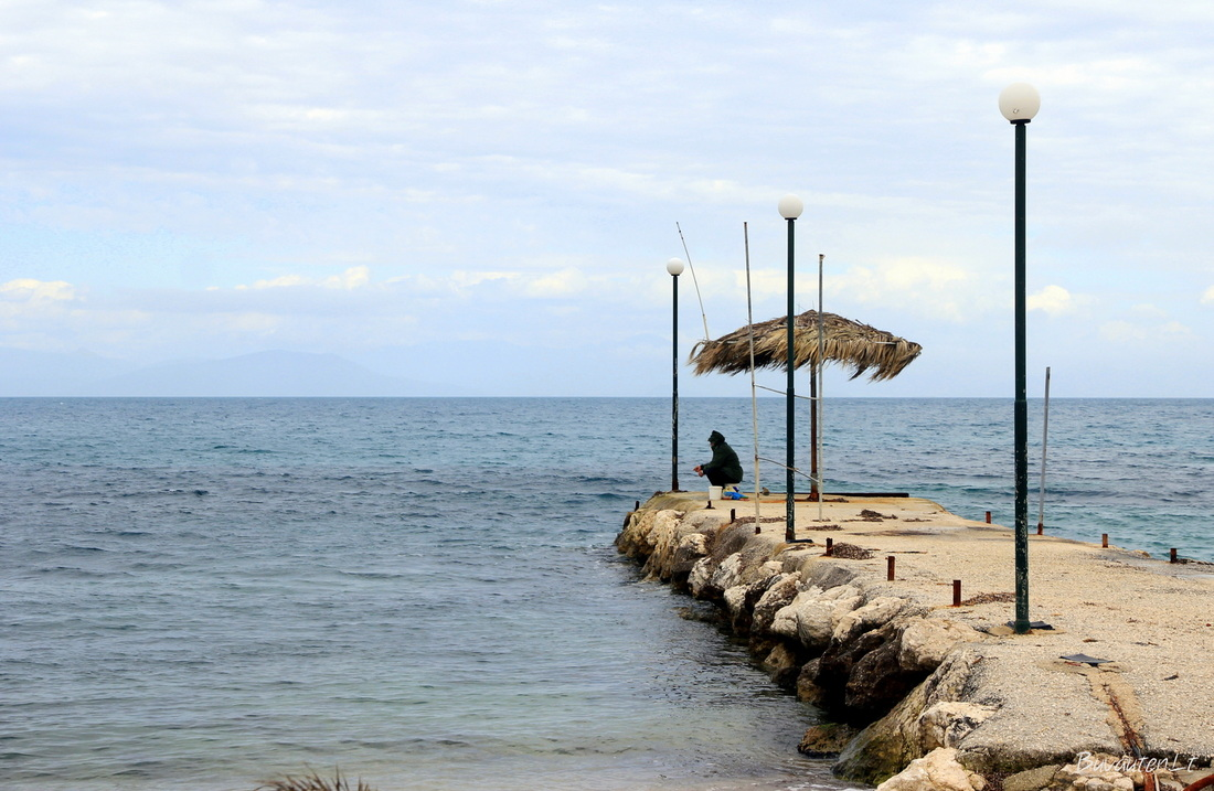 Rytinė salos pakrantė