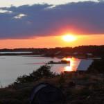 Dviem ratais per Alandų salyną Suomijoje