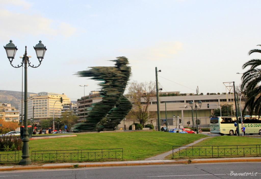 Šiuolaikinė skulptūra Atėnuose