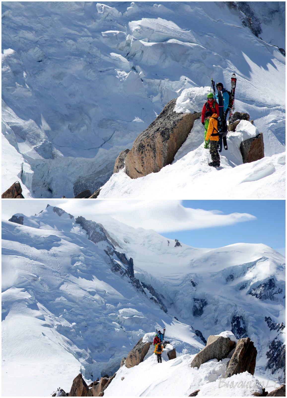 Slidininkai pakeliui į Baltąjį slėnį