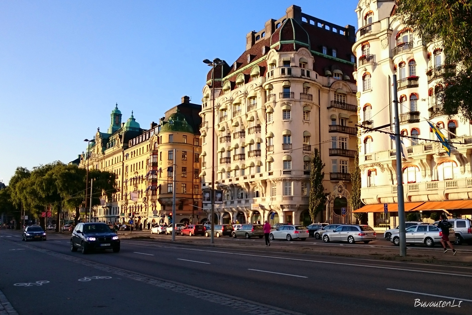 Viena brangiausių Stokholme – Strandvägen gatvė