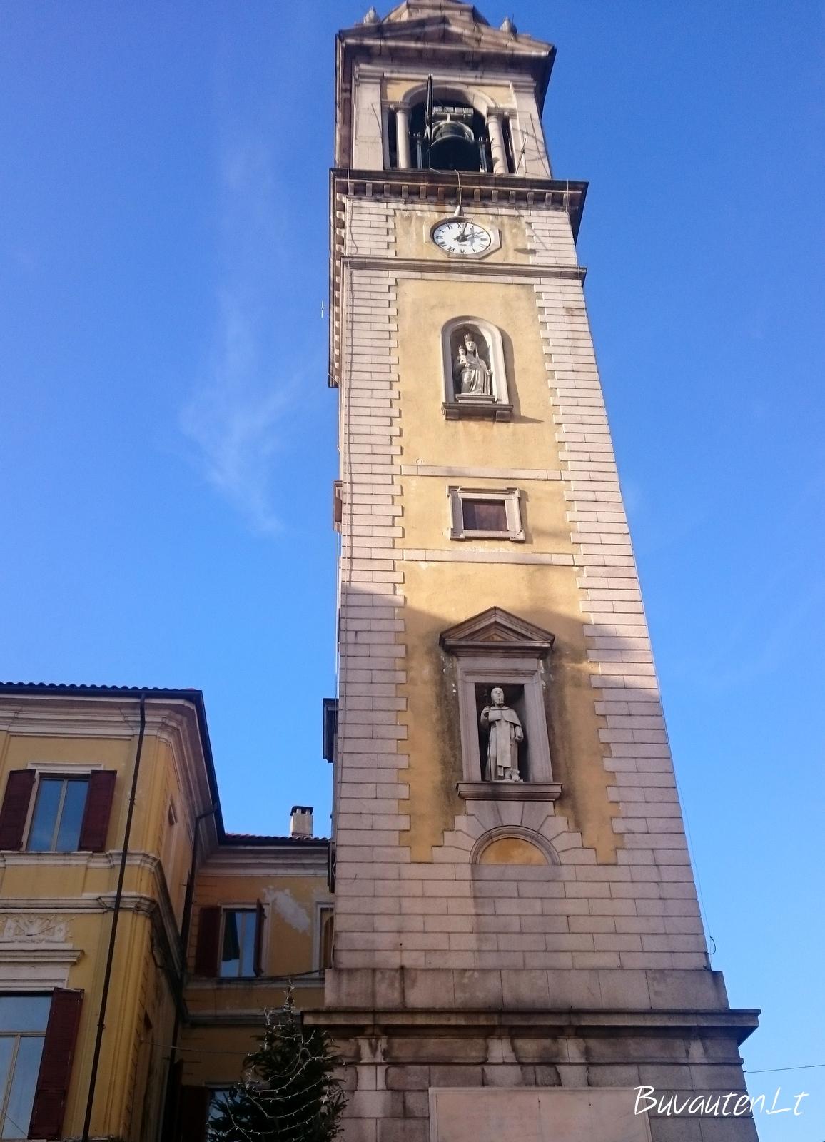 Castelleto sopra Ticino – čia ilgai neužtrukom