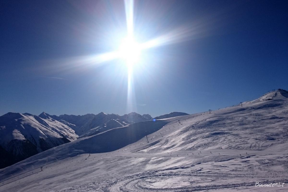 Alpių viršūnės