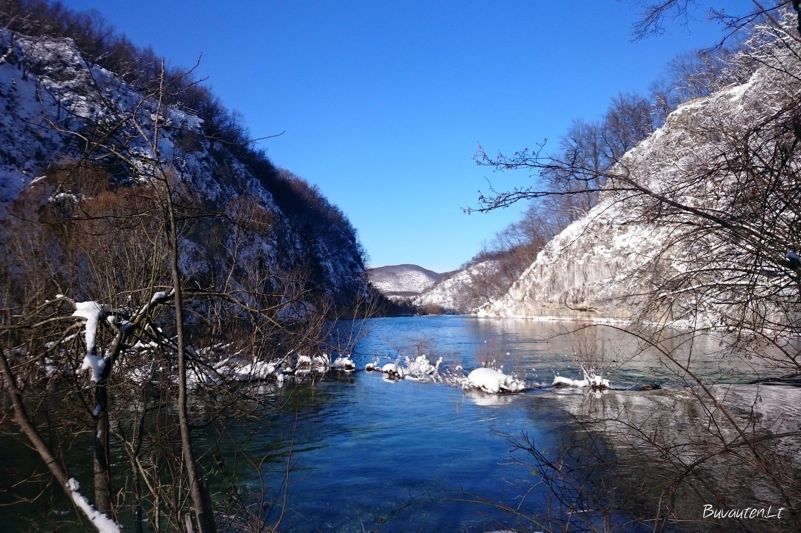 Ramybė Plitvicos ežerų nacionaliniame parke