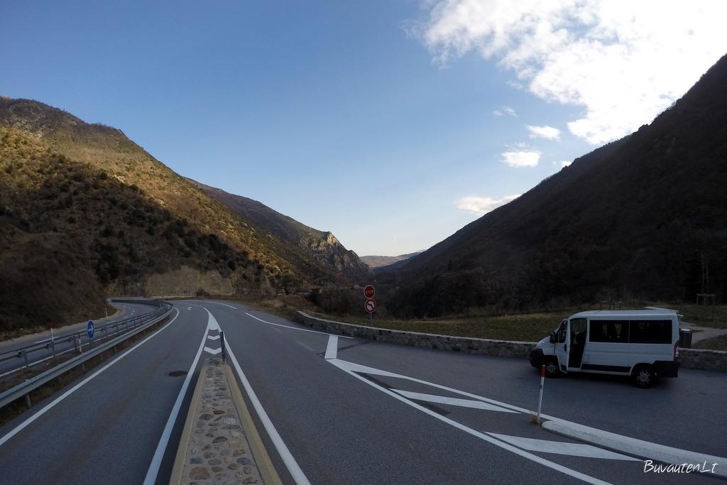 Viena iš stotelių Pirėnų kalnuose