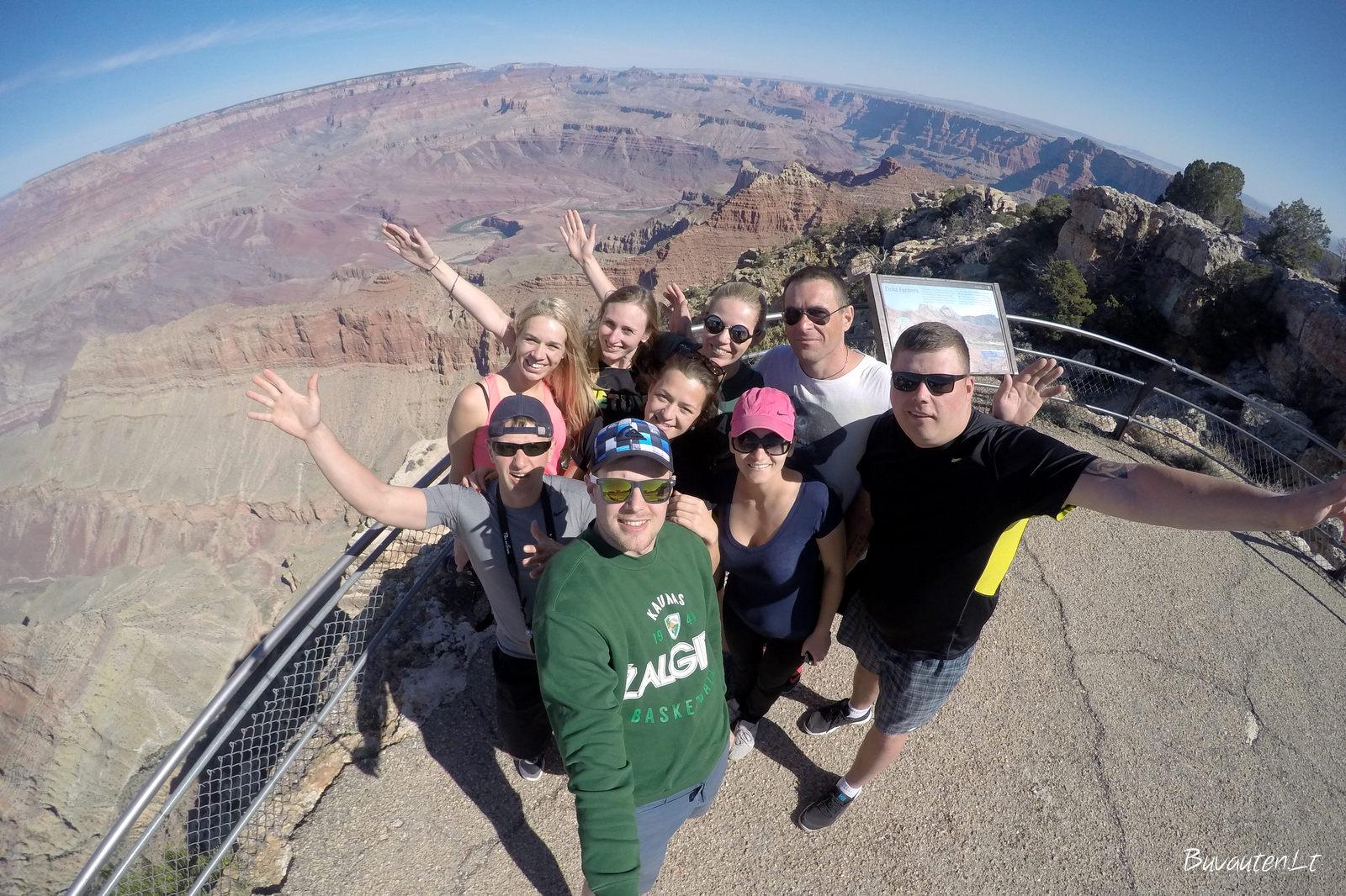 Mes Didžiajame kanjone
