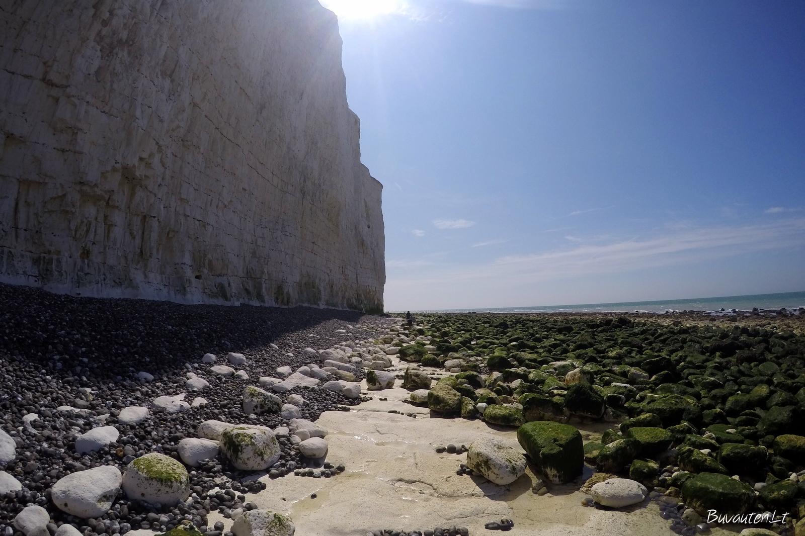 Uolėtasis paplūdimys Birling Gap