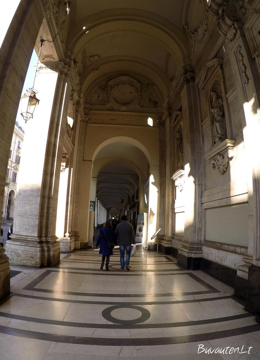 Marmuriniai Turino pėsčiųjų takai