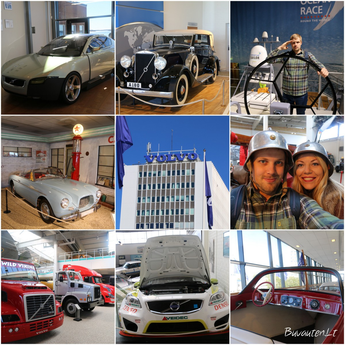 Volvo muziejus Geteborge