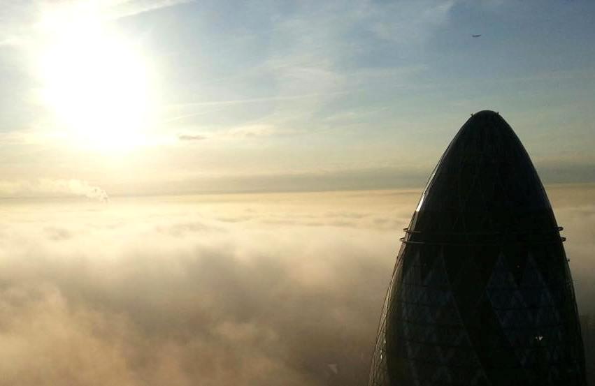 Londonas iš aukštai