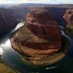 Kelionė po Ameriką: Horseshoe Bend Kolorado upėje