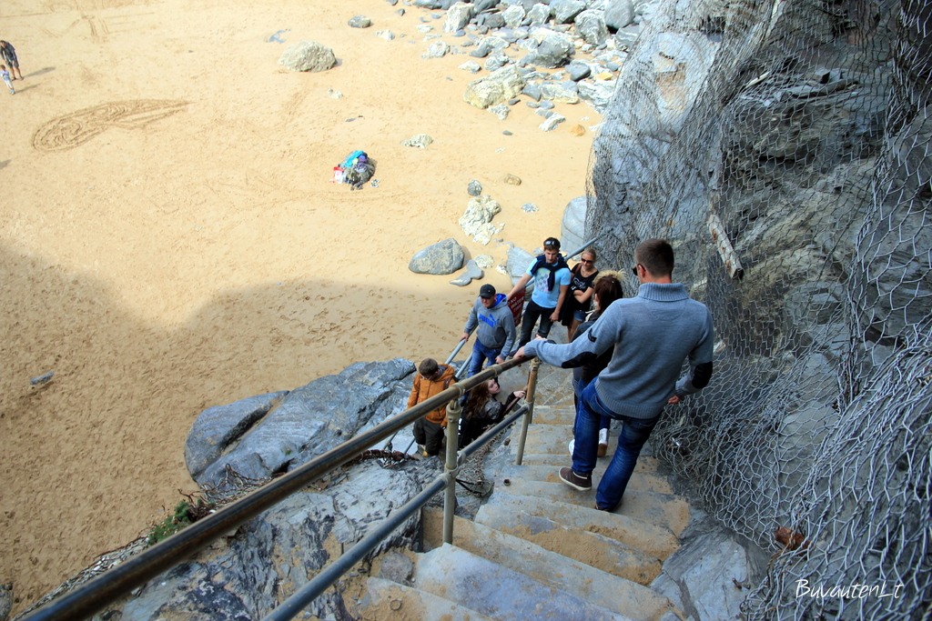 Statūs laipteliai į paplūdimį