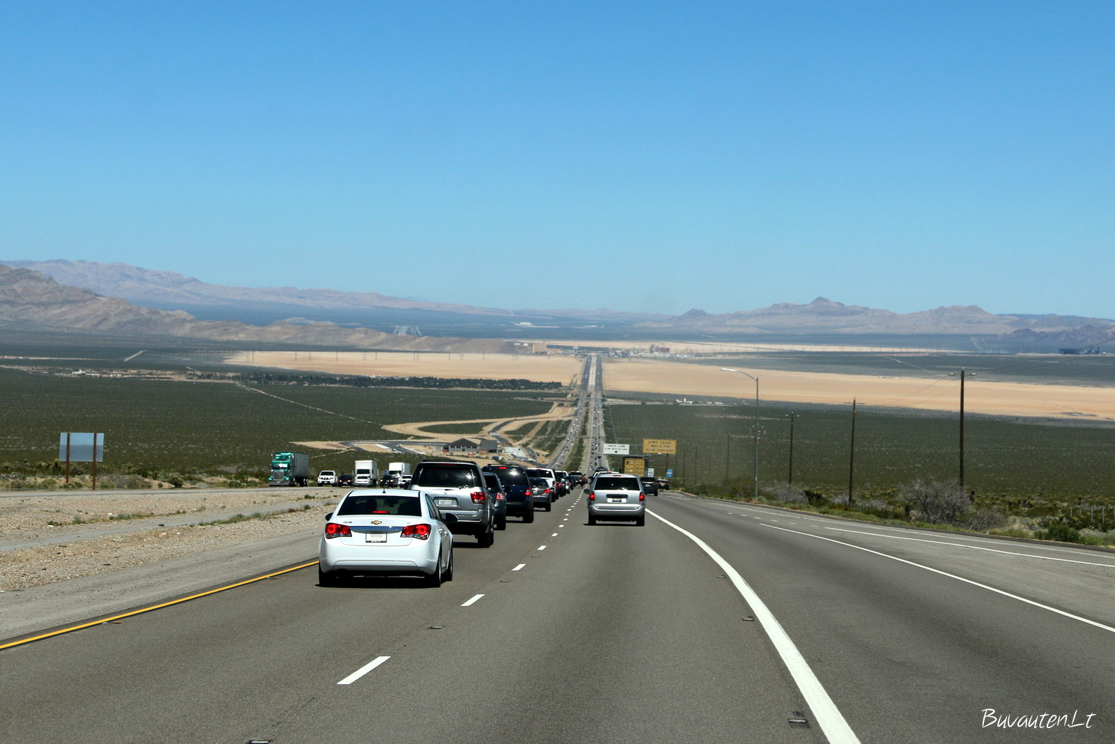 Kelyje iš auksinės valstijos (Golden State) į sidabrinę valstiją (Silver state)