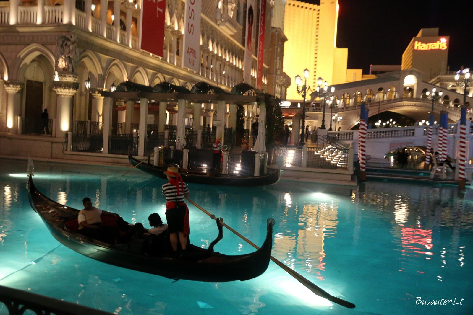 Las Vegaso Venecijos kanalai