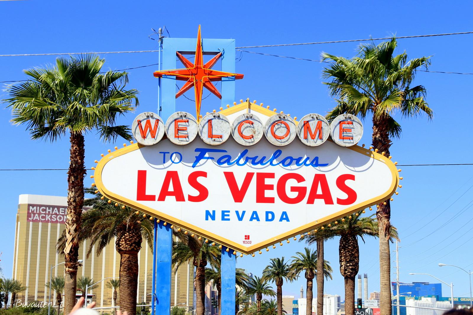 """""""Sveiki atvykę į nuostabųjį Las Vegasą"""", – sako ženklas"""