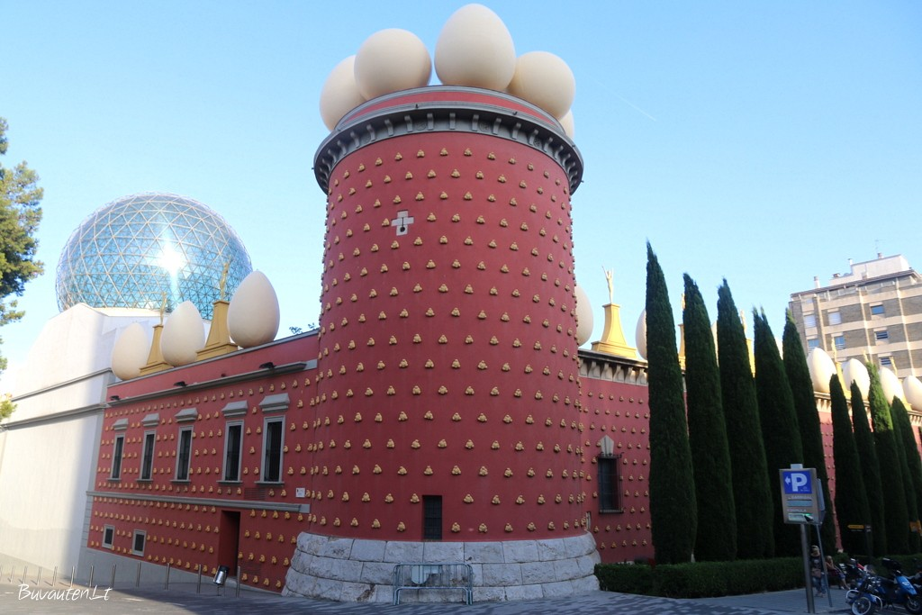 Salvadoro Dali muziejus jo gimajame Figueres mieste