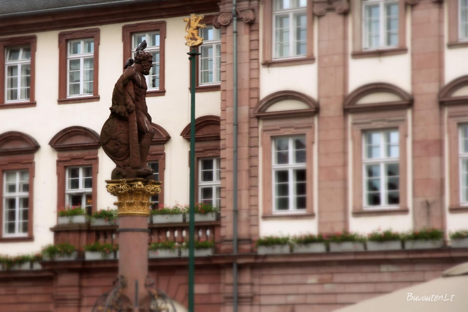 Heidelbergas per karą beveik nenukentėjo