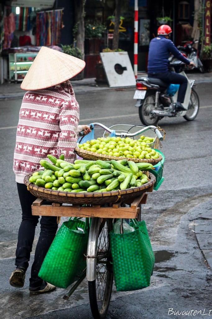 Vaisių pardavėja