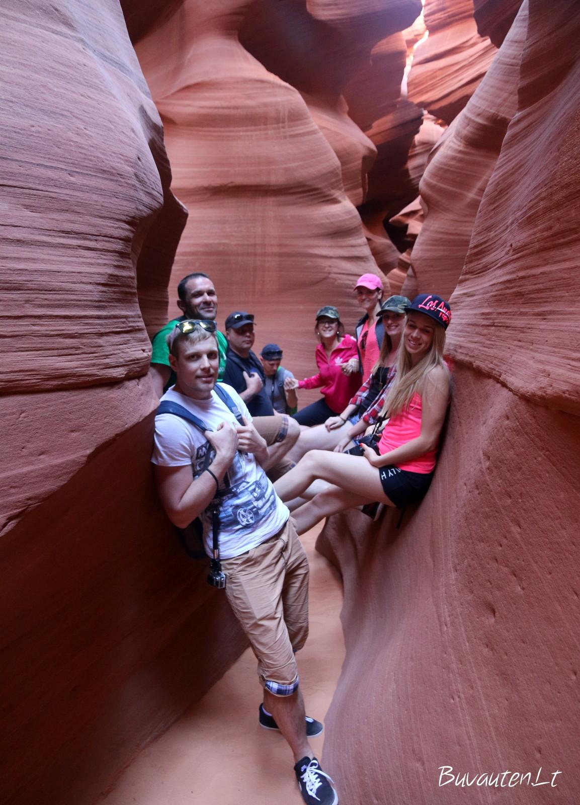 Antilopės kanjone