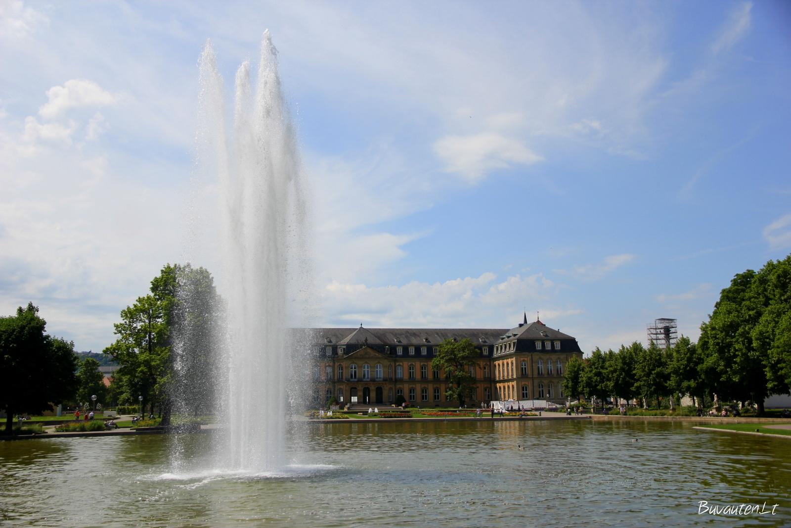 Parko fontanas