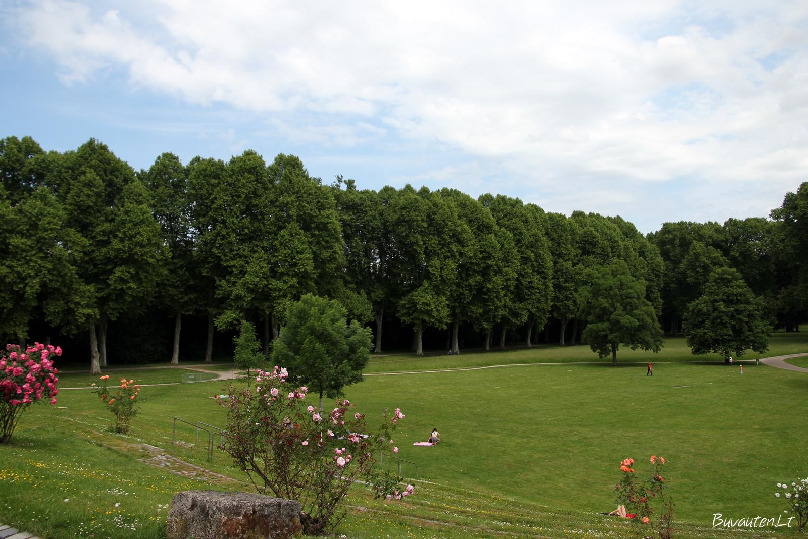 Štutgarte daug parkų ir žalių plotų