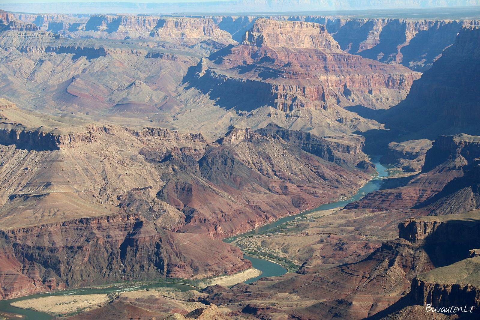 Štai ir Kolorado upė – Didžiojo kanjono kūrėjas