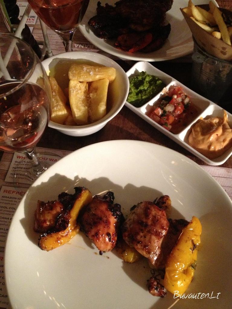Vakarienė braziliškai