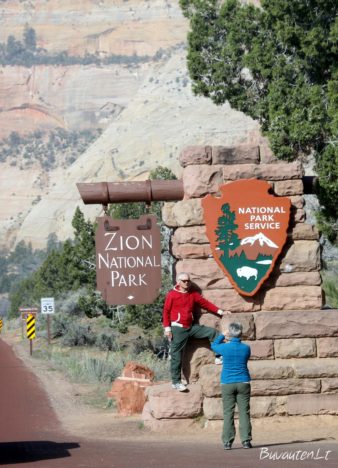 Siono parkas Amerikoje