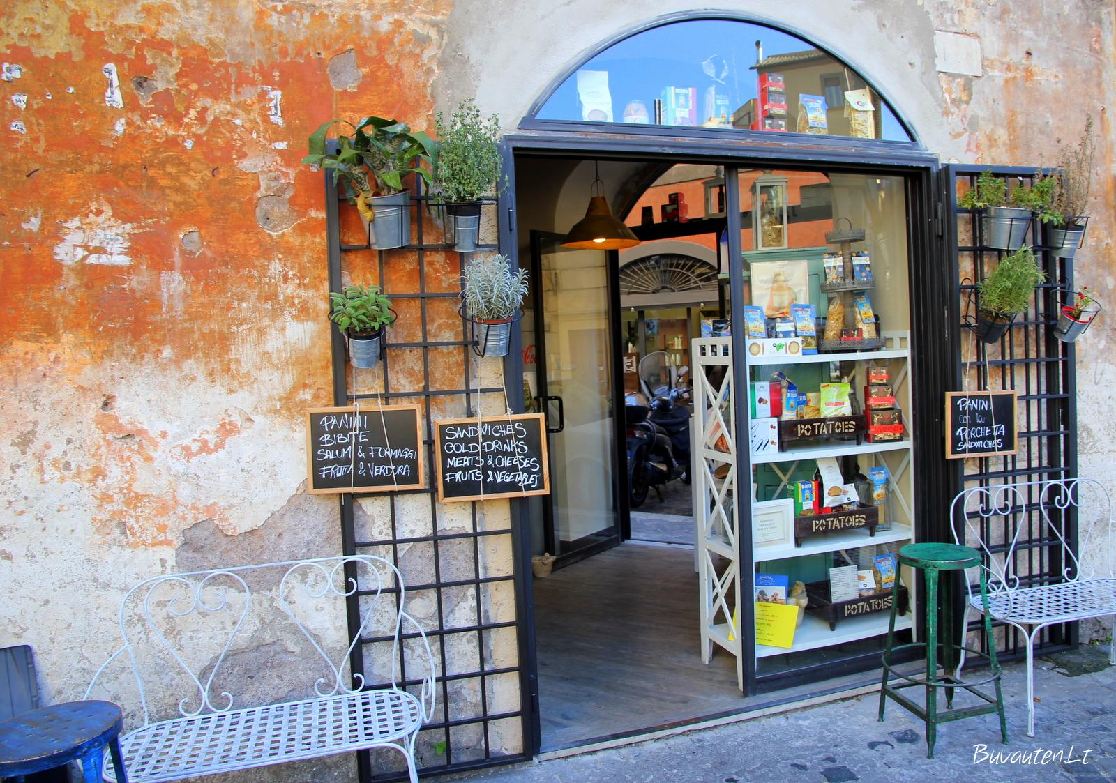 Romos senamiesčio gatvelės