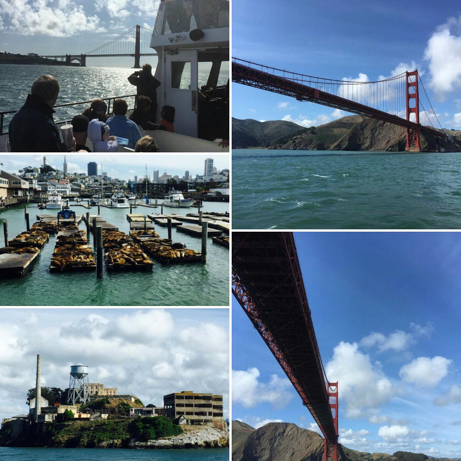 Turas laivu po San Francisko ilanką. Valdemaro nuotr.