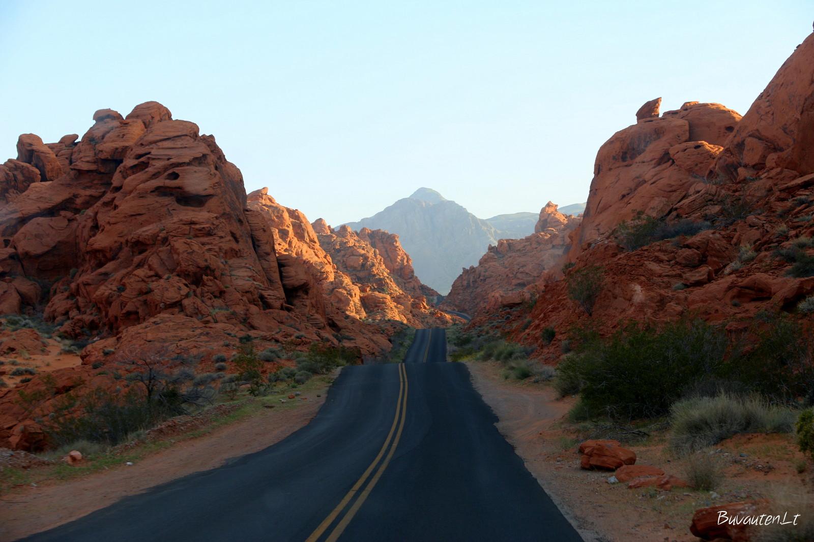 Amerikos keliai parkuose