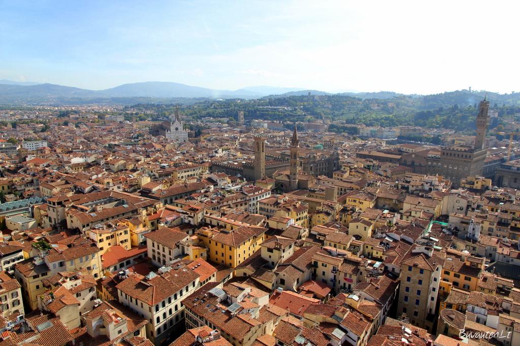 Florencija iš viršaus