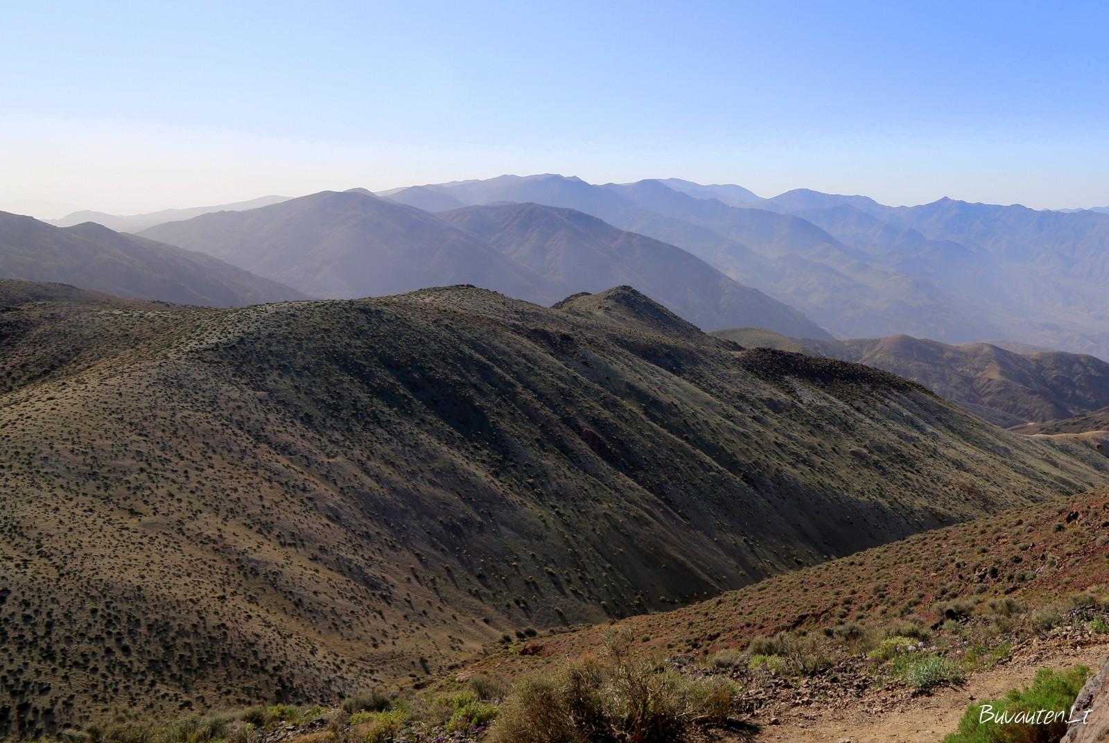 Juodieni kalnai nuo Dantės apžvalgos aikštelės